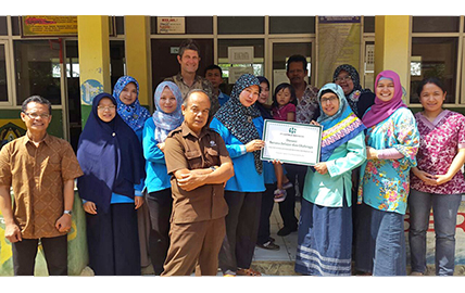 Hatfield Indonesia continues support of local elementary school