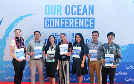 Hatfield Indonesia moderates Ocean Talks at Our Ocean Conference 2018