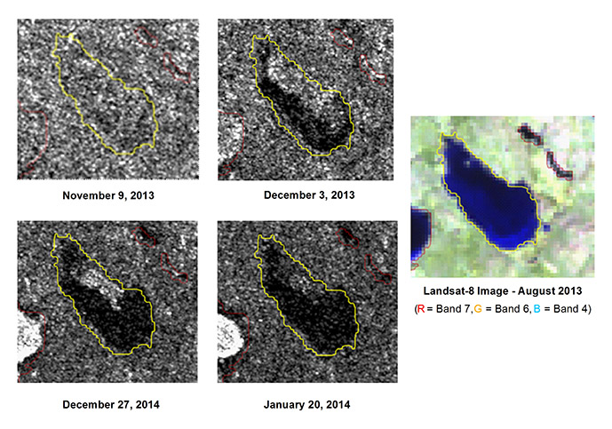 Research on the monitoring of lake ice published in Canadian Journal of Remote Sensing