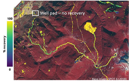 Landsat big data analysis presented at PTAC Ecological Issues Forum