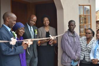 Hatfield staff donate funds to build a home in Mmankgodi Village, Botswana