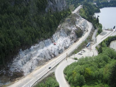 Sea-to-Sky Highway Infrastructure Improvement Project