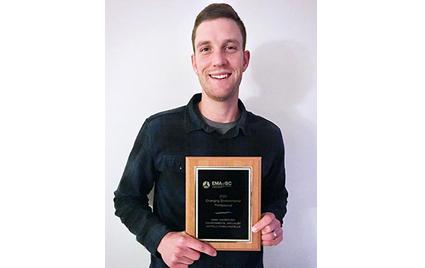 Winner of EMA of BC Emerging Environmental Professional Award – Marc VanderVeer