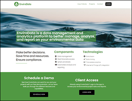 EnviroData website